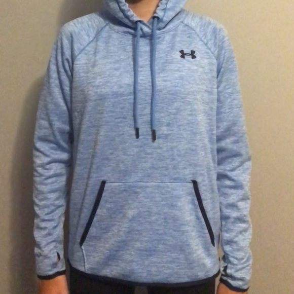 Under Armour Tops - Under Armour Blue Hoodie
